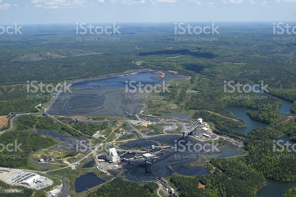Coal Mine Operation royalty-free stock photo