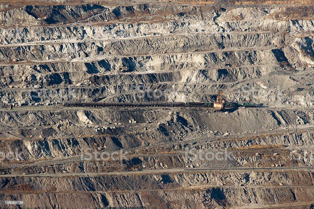 Coal mine royalty-free stock photo