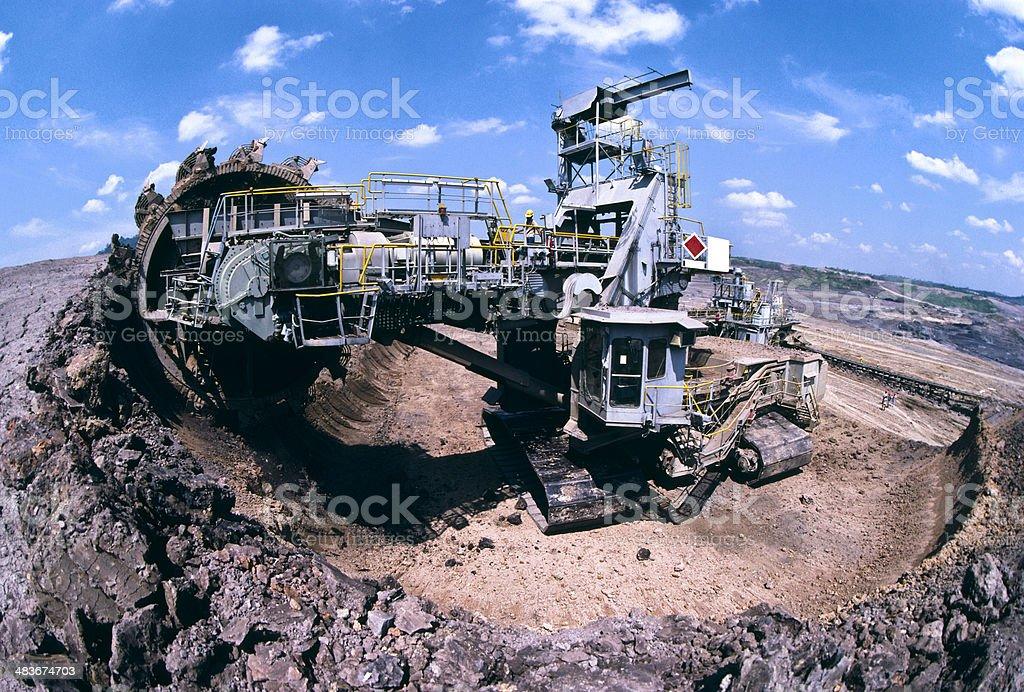 Coal Mine. royalty-free stock photo