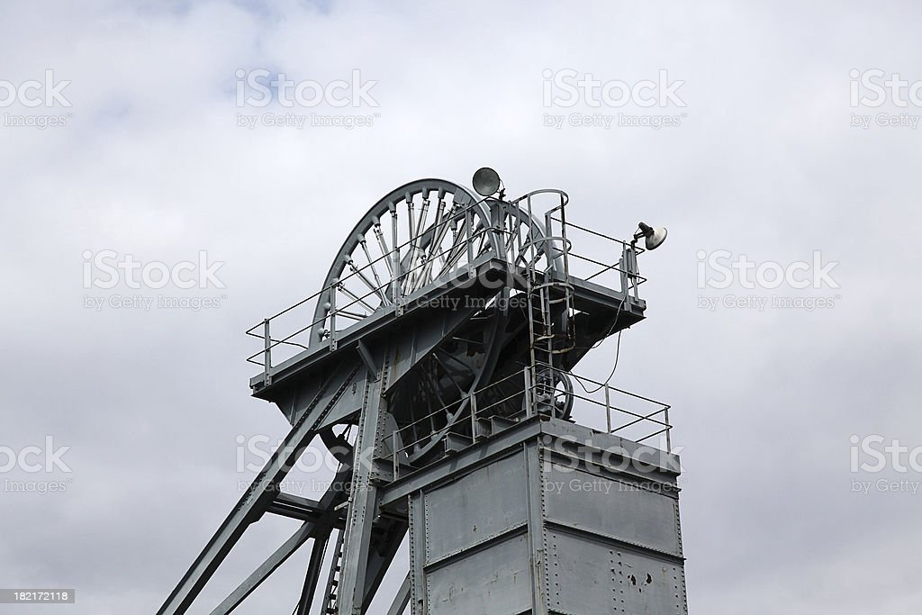 Coal Mines of The North East royalty-free stock photo