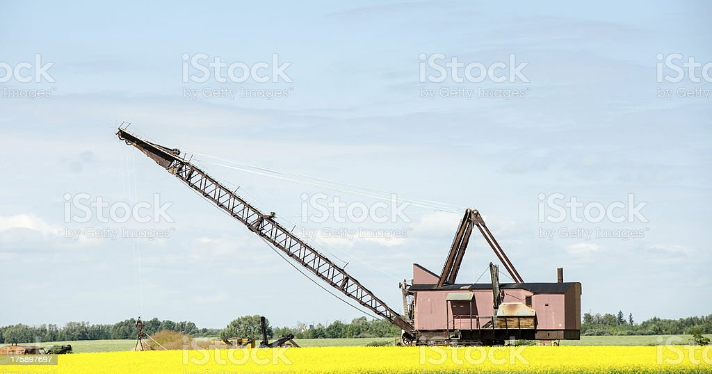 Coal Mining Bucket royalty-free stock photo