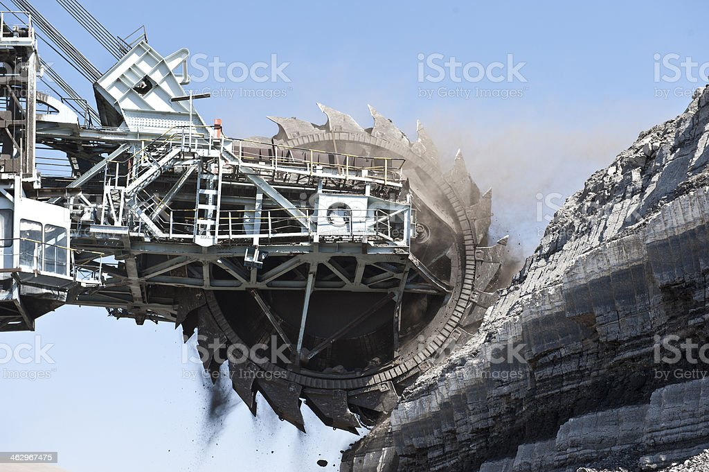 Coal Mining stock photo