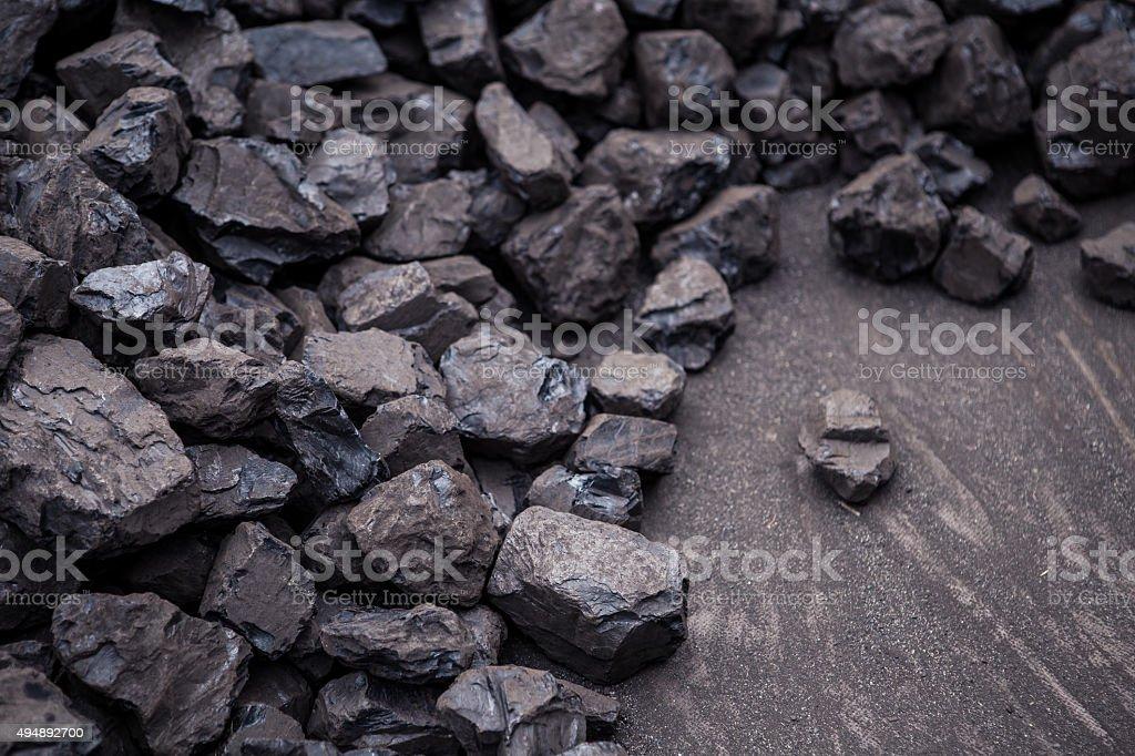 Coal stock photo