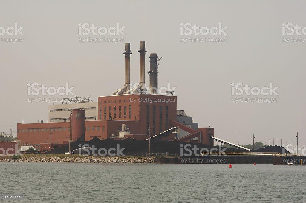 Coal Power stock photo