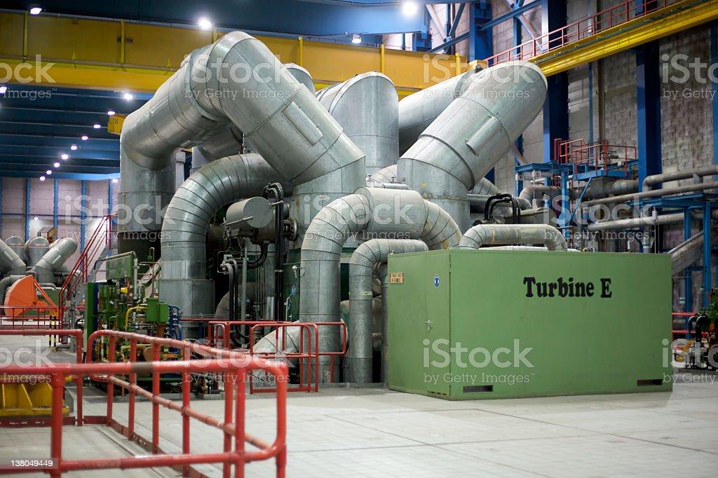 coal power plant stock photo