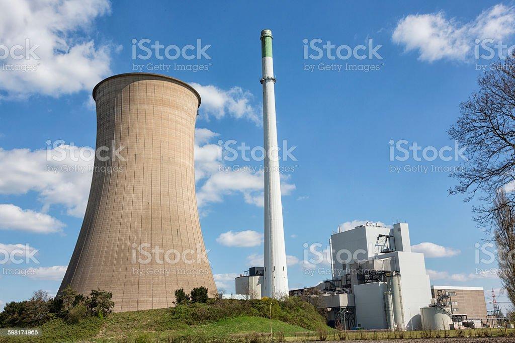 coal power station stock photo