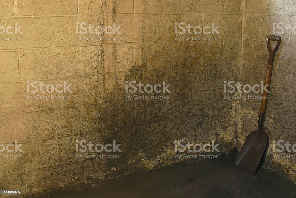 Coal Shovel 3 royalty-free stock photo