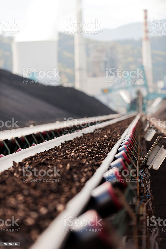 Coal transport stock photo