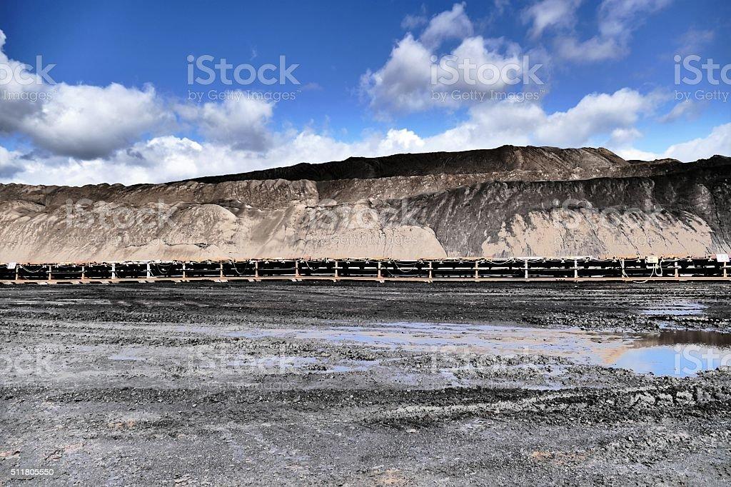 Coal transport stock photo
