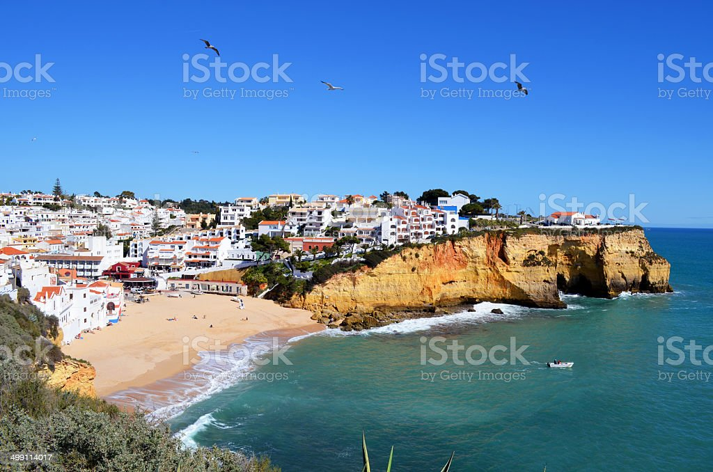 Carvoeiro stock photo