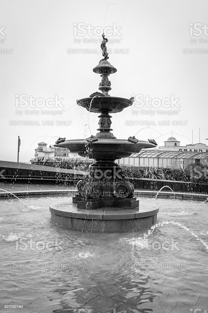 Coalbrookdale fountain stock photo