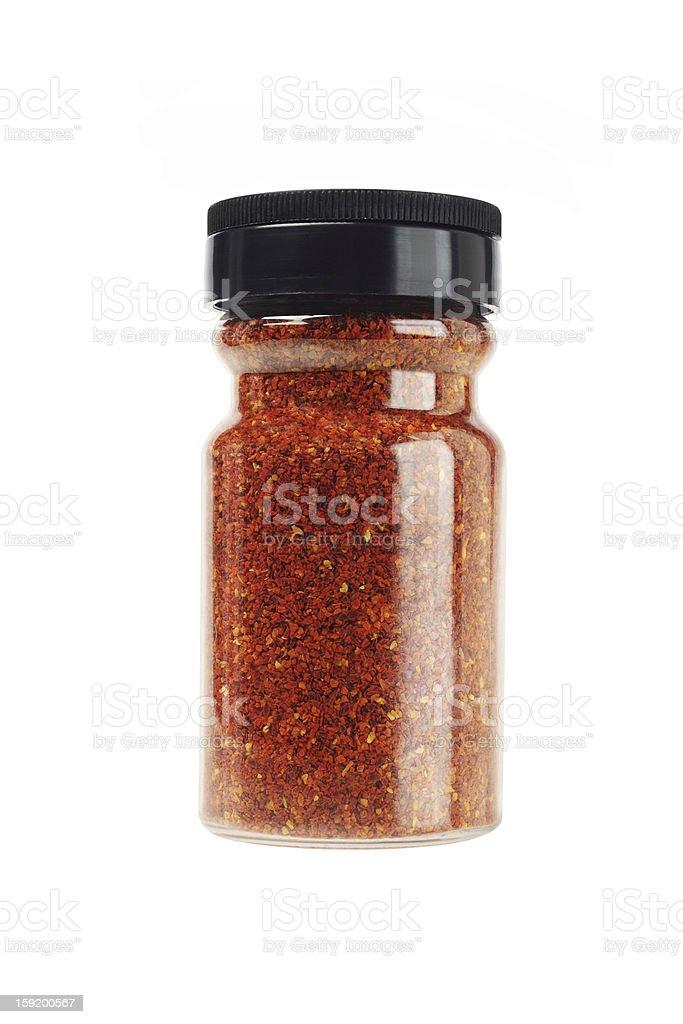 Coarse Chilli Powder stock photo