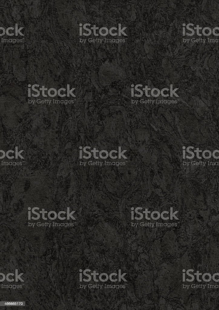 Coarse Recycle Striped Black Pastel Paper Mottled Grunge Texture stock photo