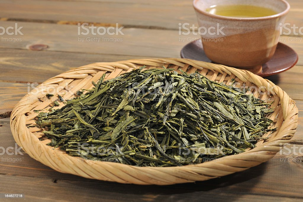 Coarse tea royalty-free stock photo