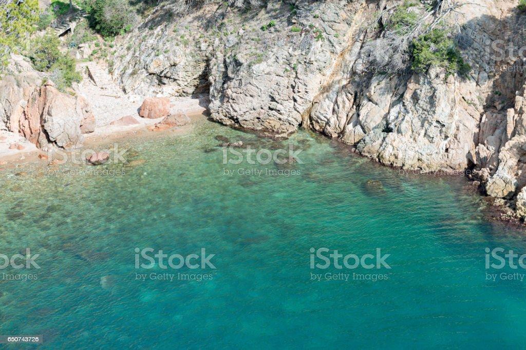Coast Brave (Costa Brava) - Girona (Spain) stock photo