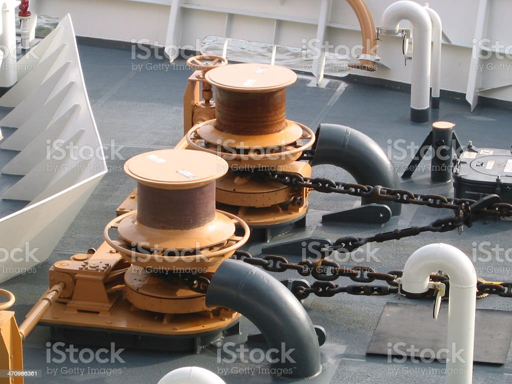 US Coast Gaurd Ship - B royalty-free stock photo