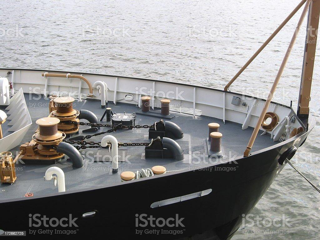 US Coast Gaurd Ship - C royalty-free stock photo