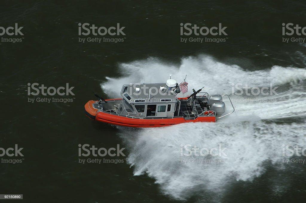 US Coast Guard royalty-free stock photo