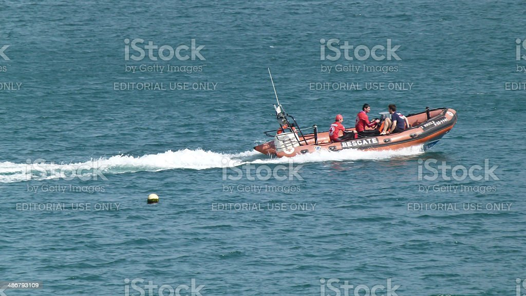 Coast Guard Search royalty-free stock photo