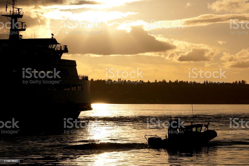 Coast Guard Security stock photo