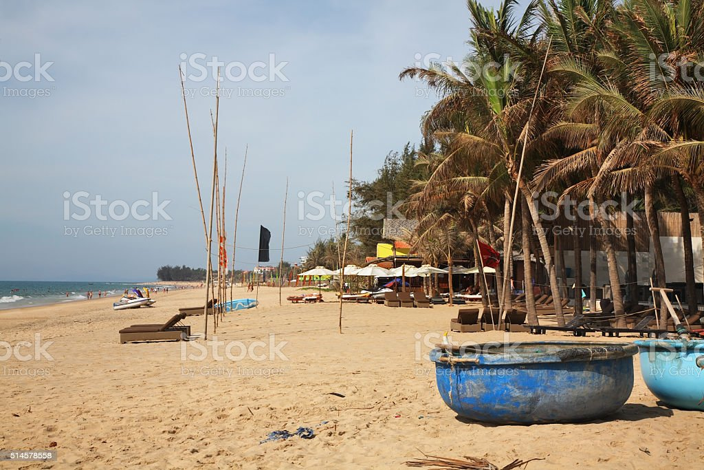 Coast in Phan Thiet. Vietnam stock photo