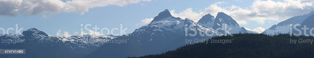 Coast Mountains stock photo