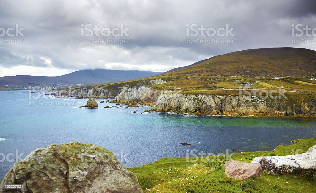 Coast of Achill Island royalty-free stock photo