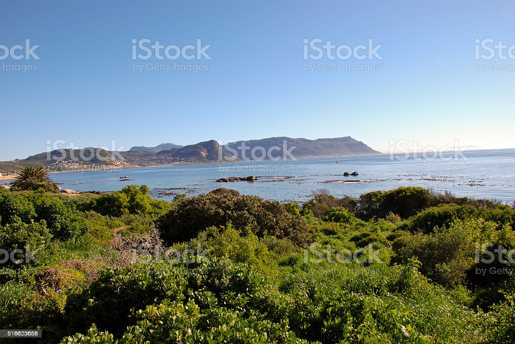 Coast of Africa - Cape point in RSA stock photo