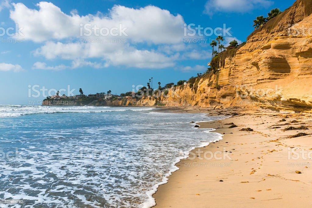 Coast of California. stock photo