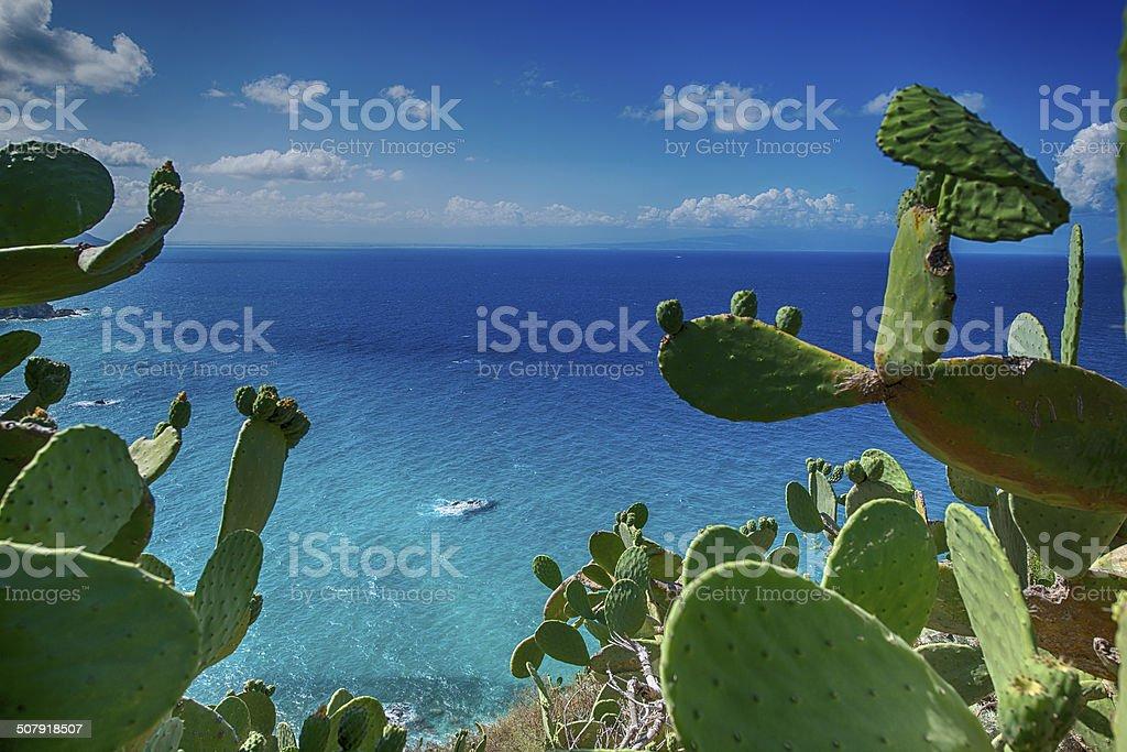 Coast of Capo Vaticano, Calabria, Italy, XXL image stock photo
