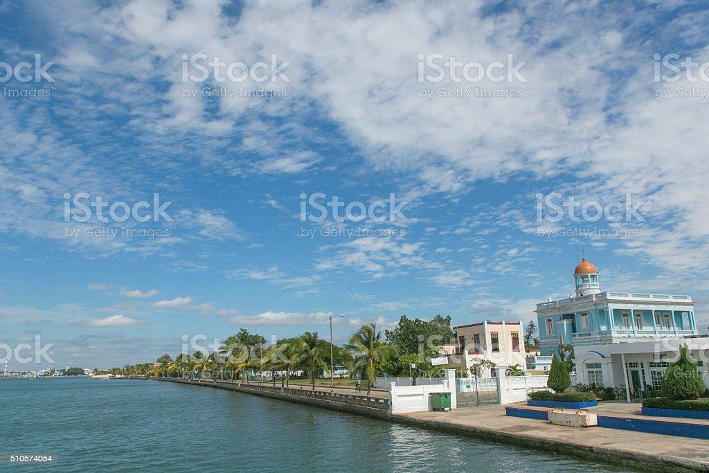 coast of cienfuegos town at cuba stock photo
