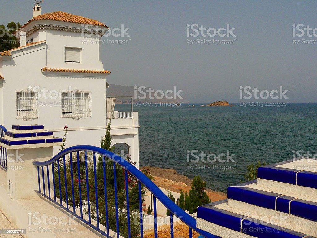 Coast of Costa Brava in Spain royalty-free stock photo