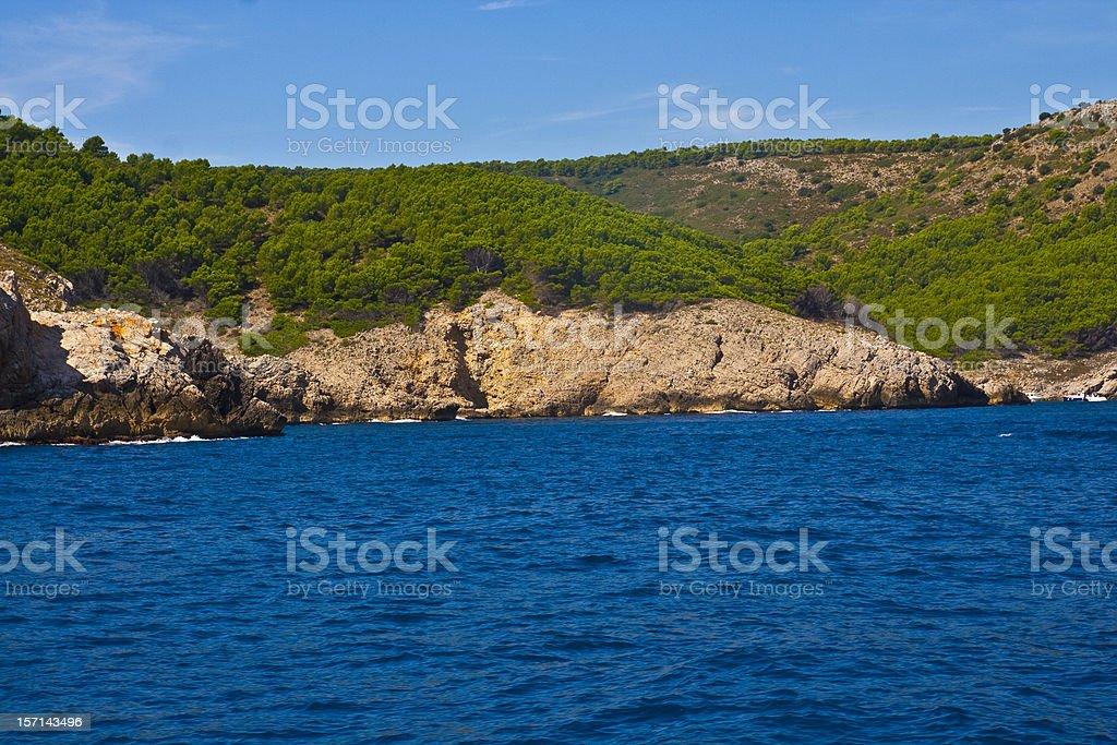 coast of Costa Brava stock photo