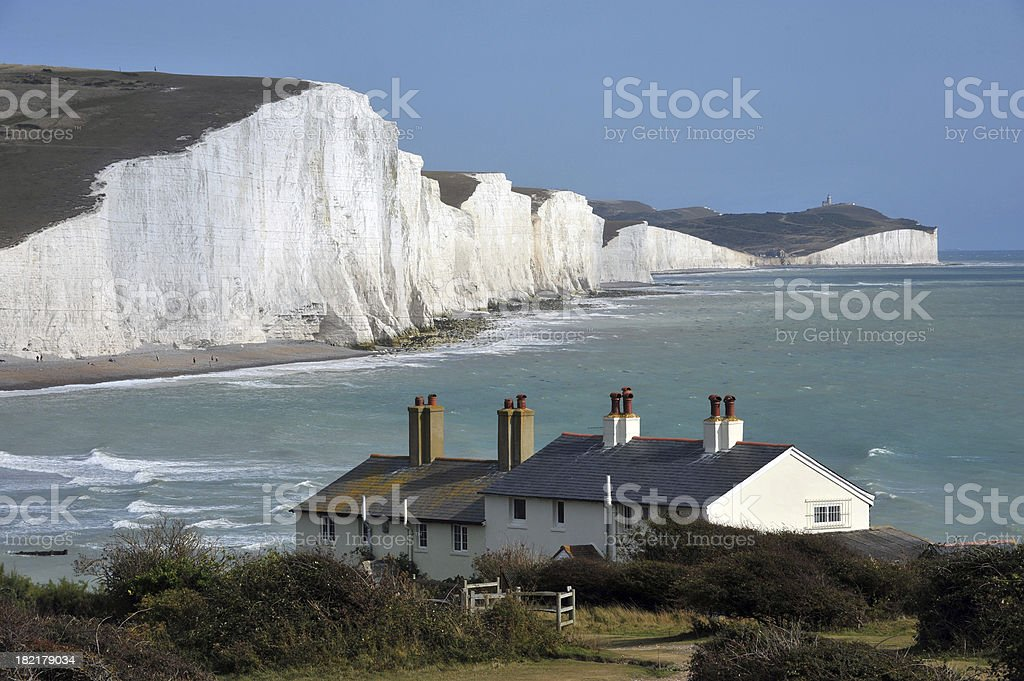 Coast of England stock photo
