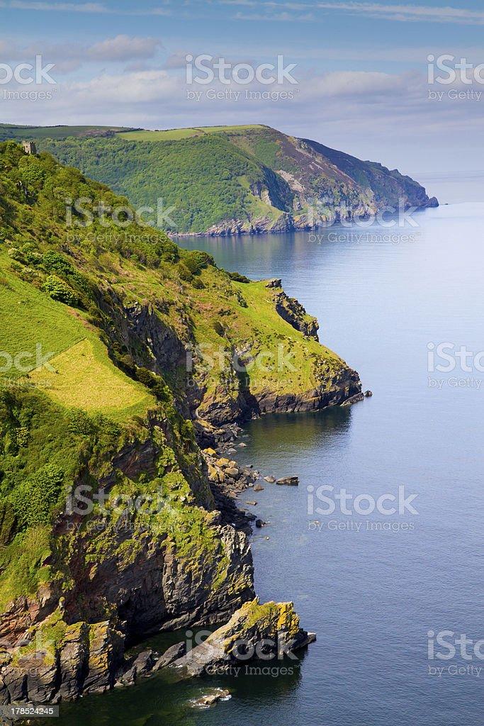 Coast of Great Britain royalty-free stock photo