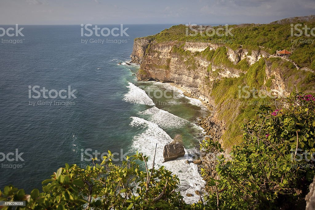 Coast of Indian ocean, Indonesia royalty-free stock photo