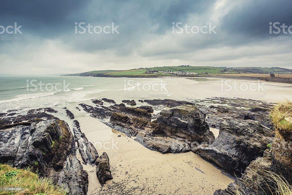 Coast of Ireland royalty-free stock photo