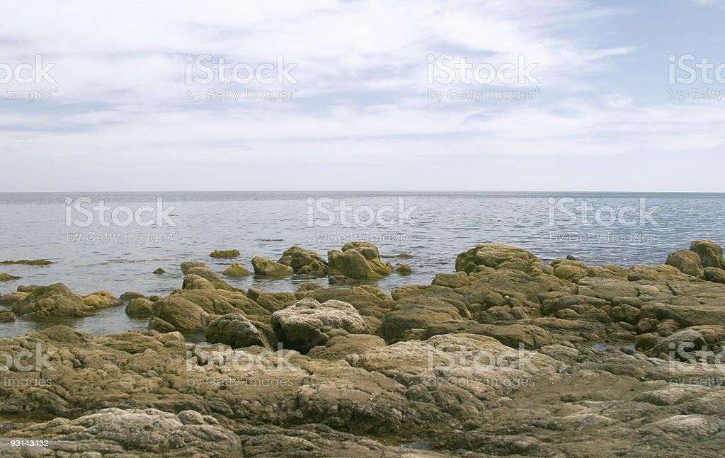 Coast of Mar de Cortes royalty-free stock photo