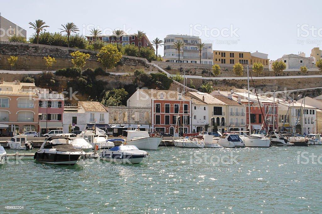 Coast of Menorca stock photo