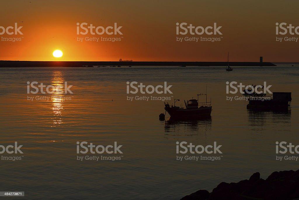 Coast of Porto royalty-free stock photo