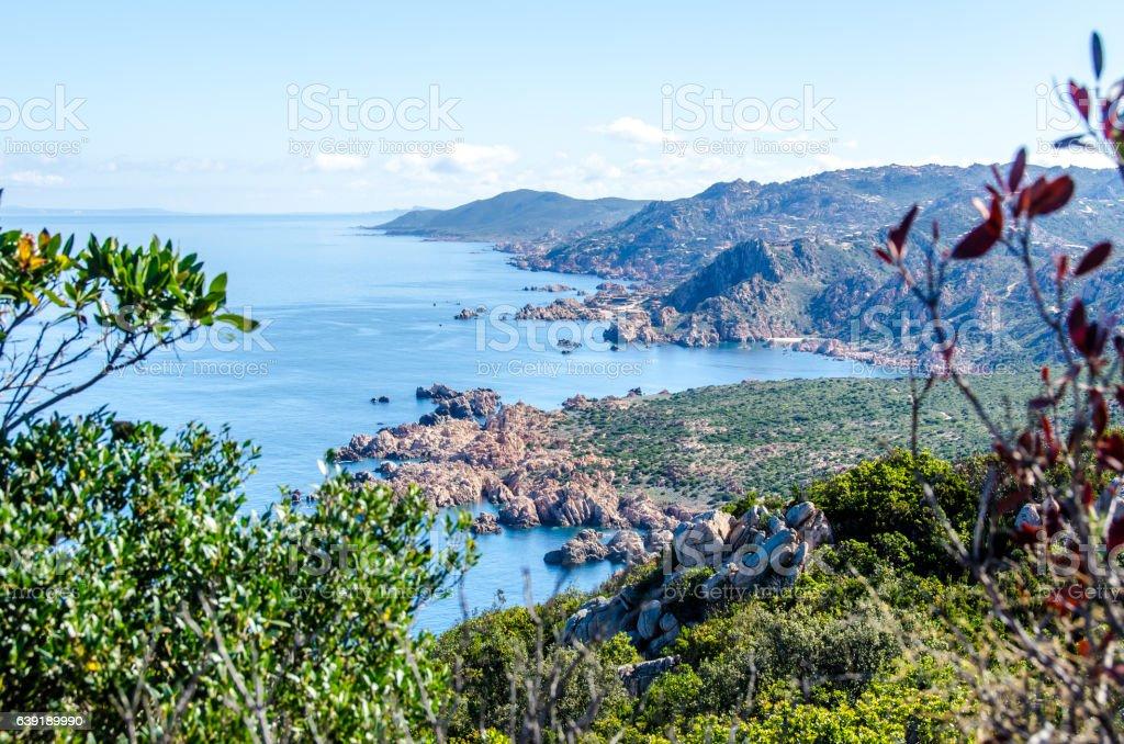Coast of Sardinia - Vacation in Italy stock photo