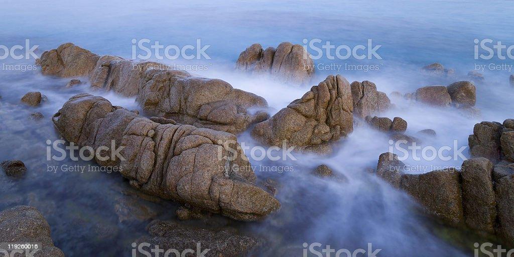 coast on Sardegna royalty-free stock photo
