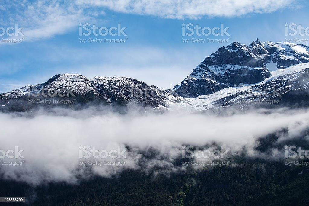 Coast Range with Misty stock photo