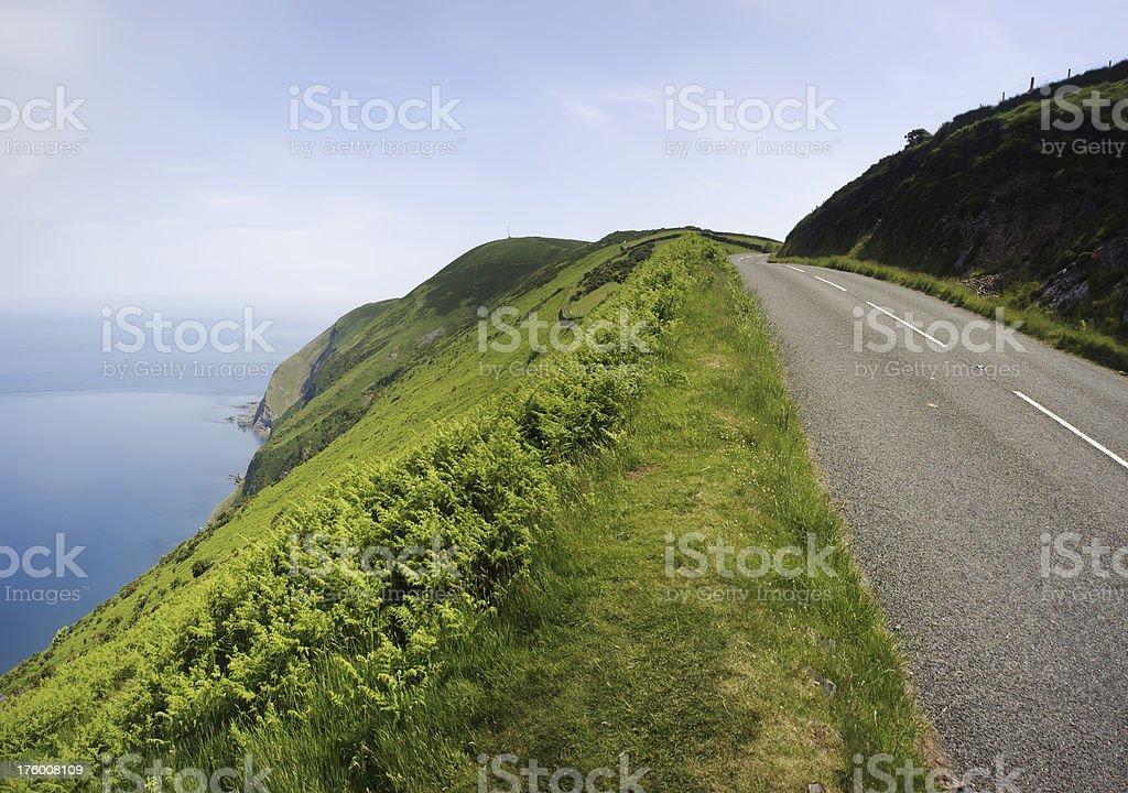 coast road stock photo