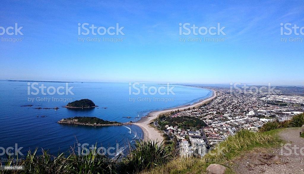 Coast view stock photo