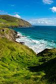 Coast with Big Waves at Slea Head in Ireland