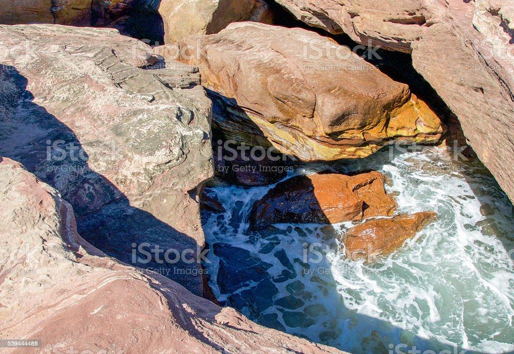 Coastal Abstract stock photo