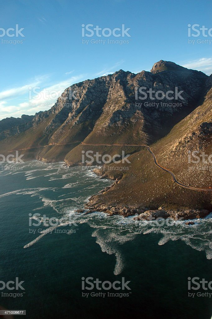 Coastal Aerial View royalty-free stock photo