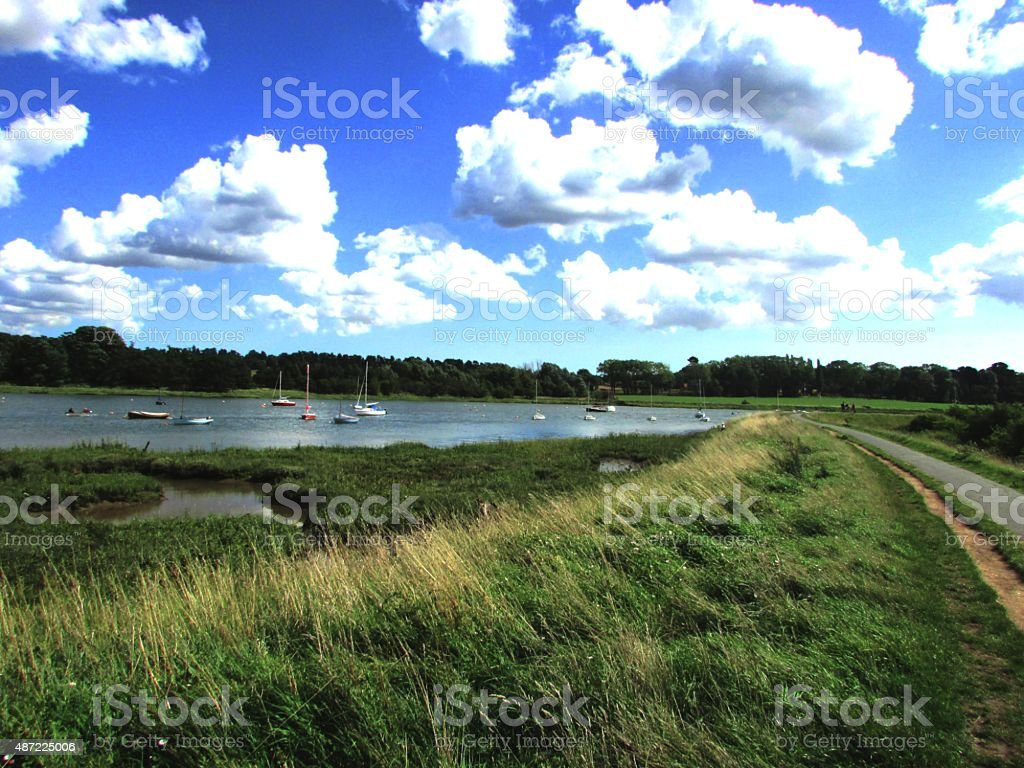 coastal background view stock photo