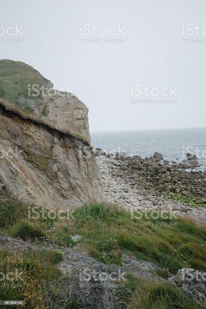 Coastal Beach stock photo